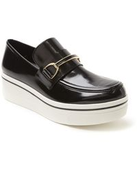 Stella McCartney Wedge Loafer - Lyst