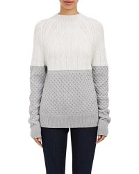 Proenza Schouler Combo-Stitched Sweater - Lyst