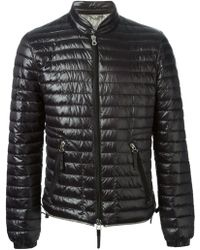 Duvetica Black Padded Jacket - Lyst