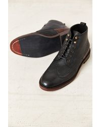 H By Hudson Black Harland Boot - Lyst
