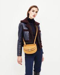 Chloé - Georgia Mini Leather Crossbody Bag - Lyst