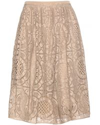 Burberry London Lace Skirt - Lyst