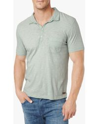 7 For All Mankind Lightweight Slub Polo - Lyst