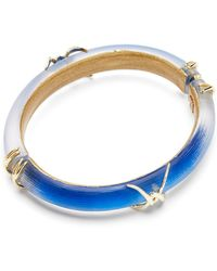 Alexis Bittar Lucite Barbed Wire Hinge Bangle - Bloomingdale'S Exclusive - Lyst