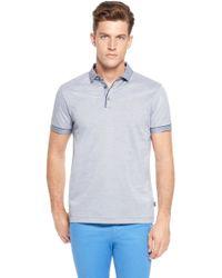 Hugo Boss Asam  Slim Fit Cotton Polo Shirt - Lyst