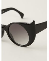 Barn's - 'eye-liner Frame' Sunglasses - Lyst