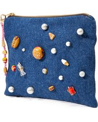 Venessa Arizaga - Snack Attack Clutch Bag - Lyst