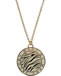 Marc By Marc Jacobs Necklace gold - Lyst