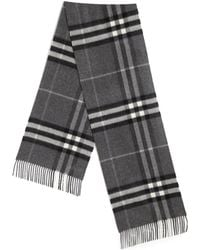 Burberry | Giant Icon Cashmere Scarf | Lyst