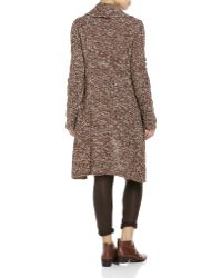 English Laundry - Marled Knit One-Button Duster - Lyst