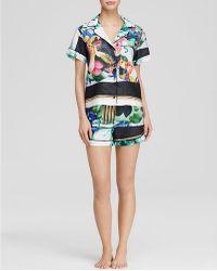 Clover Canyon - Liquid Jade Short Pajama Set - Bloomingdale's Exclusive - Lyst