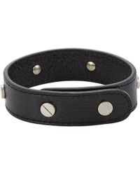 Balenciaga Classic Arena Simple Bracelet - Lyst