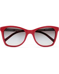 Ralph Lauren Art Deco Square Sunglasses - Lyst