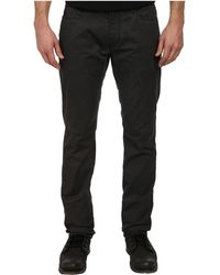 John Varvatos Bowery Fit Jean Slim Straight Leg in Black - Lyst