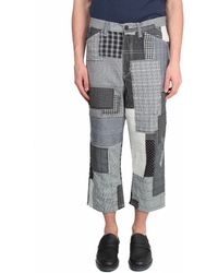 Junya Watanabe Multi-Fabric Patchwork Jeans multicolor - Lyst