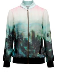Ted Baker Boyanna Palm Tree Paradise Jacket - Lyst