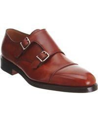 9f201cbd37d John Lobb - William Ii Double-Monk Shoes - Lyst