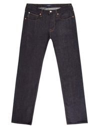 Paul Smith Tapered-Fit Dry Indigo Selvedge Jeans - Lyst