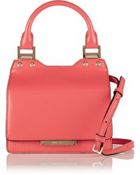 Jimmy Choo Amie Small Leather Tote - Lyst