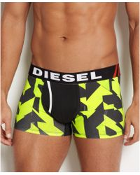 Diesel Mens Darius Construction Stop Sign Boxer Brief - Lyst