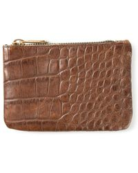 Soulland - 'joan' Embossed Wallet - Lyst