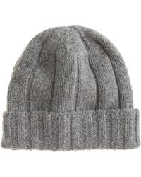J.Crew Ribbed Wool Watchman Cap - Lyst
