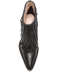 By Malene Birger - Ounni Leather Booties - Lyst