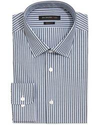 John Varvatos Regular Fit Striped Dress Shirt - Lyst