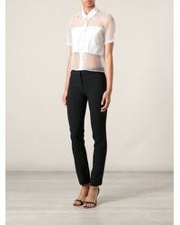 Versace Slim Fit Trousers - Lyst