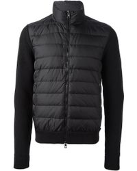 Moncler Knitted Jacket - Lyst