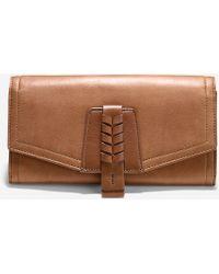 Cole Haan Felicity Wallet brown - Lyst