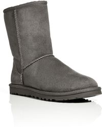 Ugg Suede Classic Short Boots - Lyst