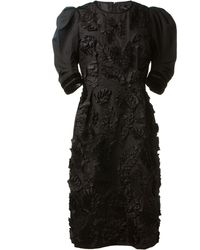 Marc Jacobs Black Dress - Lyst