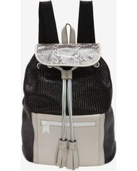efaeb621aa Meredith Wendell - Exclusive Mixed Media Backpack - Lyst