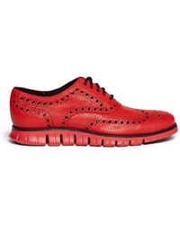 Cole Haan - 'Zerogrand' Leather Oxfords - Lyst