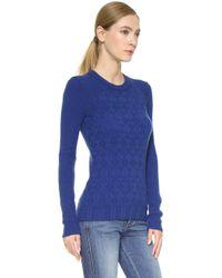 Maiyet | Block Cashmere Sweater - Mazarine Blue | Lyst