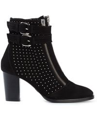 Markus Lupfer Zipped Ankle Boots - Lyst