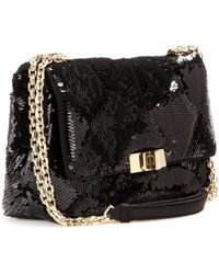 Roger Vivier Prismick Small Sequinembellished Shoulder Bag - Lyst