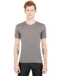 Dolce & Gabbana Light Cotton Jersey T-Shirt - Lyst