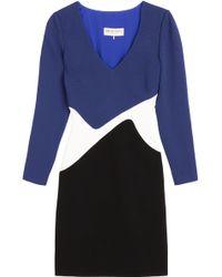 Emilio Pucci Colorblock Dress - Lyst