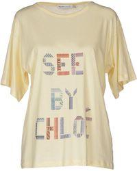 See By Chloé T-Shirt - Lyst