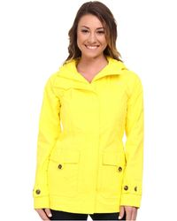 The North Face Yellow Carli Jacket - Lyst