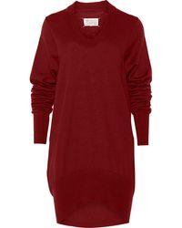Maison Margiela Wool Sweater - Lyst