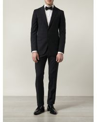 Lanvin Checked Two-Piece Suit - Lyst