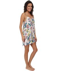 Mink Pink Bed Time Blooms Swing Dress - Lyst