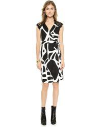 Diane Von Furstenberg Olivier Wrap Dress - Lyst