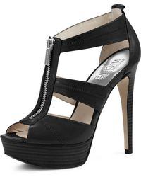 MICHAEL Michael Kors Berkley T-Strap Sandal - Lyst