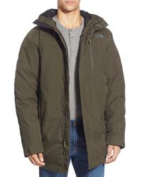 The North Face - 'mount Elbert' Hooded Waterproof Parka - Lyst