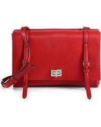 Prada Lux Calf Double Shoulder Bag - Lyst