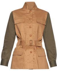 Mafalda Von Hessen - Sahariana Cotton-Blend Jacket - Lyst